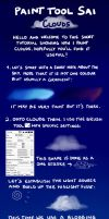 Paint Tool SAI Clouds Tutorial by Touiya
