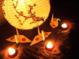 My cranes for Japan by imanitene1