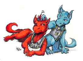 colan and taara by not-fun