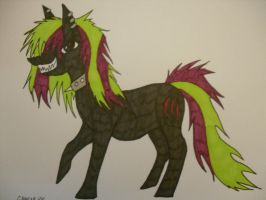ZombieWolf MLP by GreenGirl225