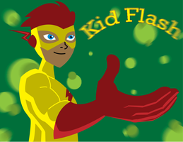 It's Kid Flash by DysfunctionalMonkey