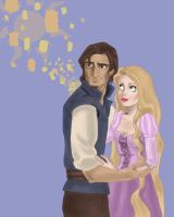 Disney Lovers: Rapunzel Flynn by Mize-meow