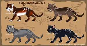 Thylacosmilus adopts OPEN by Aquene-lupetta