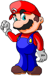 My first deviation Its Mario by yoshimaster206