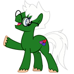 Green Earth Pony Patreon Commission by Lightning-Bliss