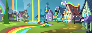 Rainbow falls by BlueThunder66