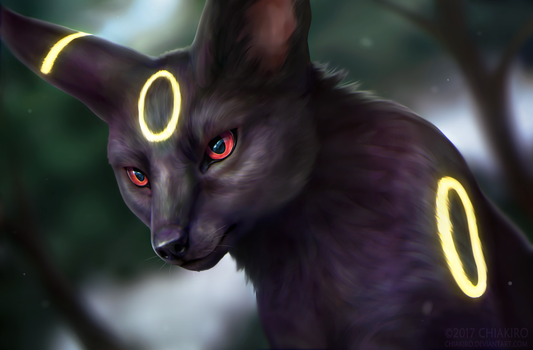 Umbreon by Chiakiro