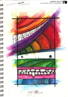 coloured pens gimpsicle by SquareFrogDesigns