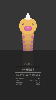 Weedle by WEAPONIX