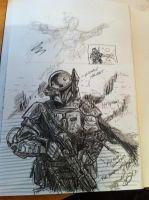 Boba Fett Sketch by odingraphics