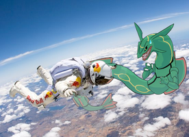 rayquaza meets felix by Appletail