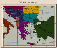 Heart of Dixie: Balkans 1920-1934 by ToixStory