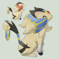 FAKEMON ContestEntry PHARIAN by mssingno