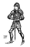 Armored Woman 2014 by myconius