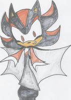 Shadow the Vampire by shadowthehedgehog109