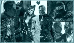 Two Face X Catwoman by fannychichou