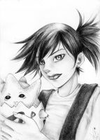 My vers. for Misty and Togepi by watanabekeiko