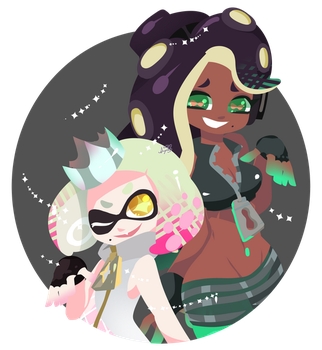 Pearl and Marina by abc002310