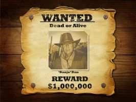 Wanted Cowboy by pauliedoodle