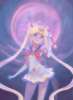 Sailor Moon by Mireys