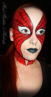 Spiderman by madmaddiesmakeup