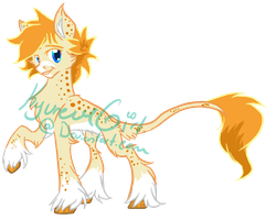 Golden Frost Adoptable [Open] by KyuremGirl