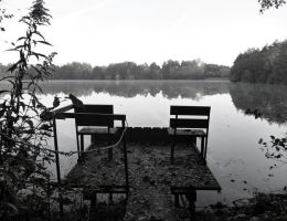 A silent place. by Caillean-Photography