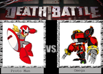 Death Battle: Proto Man vs Omega by animegx43