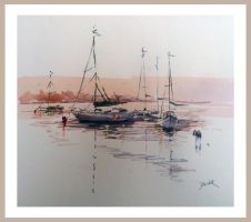 Boats by Obs3ss1On
