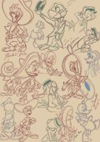 Caballeros sketches by Punkin-love