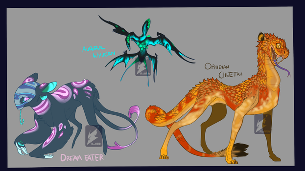 Creature Adopts (Kept) (3/3) Ends 11:59 4/15 by RoARk030