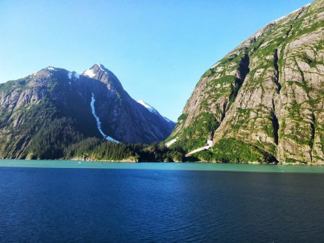 Tracy Arm Fjord, Alaska by Taffybear