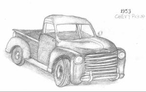 Old Art: Truck by anotherblazehedgehog