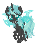Coco Pommel ( Changeling vision) by Law44444