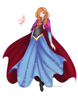 Frozen: Anna by LolliHime