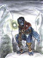 Raziel after the fall by shivikai
