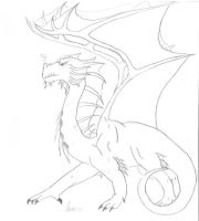 Dragon by Silverwillows4