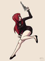 Parasoul --sketch clean up #12 by chris-re5