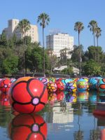 Colorful California Balls by ShipperTrish