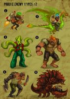 pirate enemy types 2 by ZombPunk