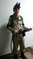 My prize winning Ghostbusters costume - 2 by gamera68