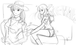 Ride em hard cowgirl by Dannychhang