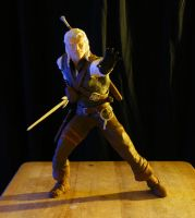 Witcher figure 1 by beastgrinder