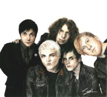 My Chemical Romance by bulletsway