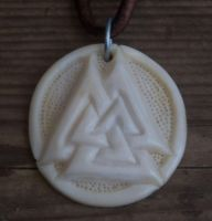 Bone Valknut by Wodenswolf