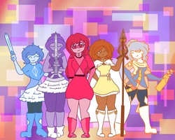 We, are the Gaming Gems by AlbinaReed