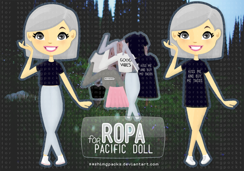 Ropa for Pacific Doll by Sashimgpacks