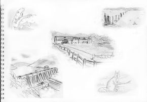 some sketches may 2011 by yzarc