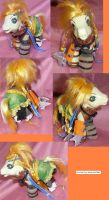 FFX Rikku pony by LightningSilver-Mana