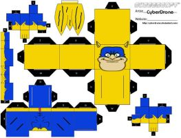 Cubee - Bananaman by CyberDrone